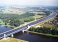 Magdeburg Water Bridge: il canale Elba-Havel e il canale di Mittelland sovrappassano il fiume Elba