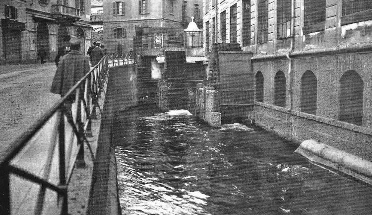 Via Santa Croce angolo Mulino delle Armi, 1915