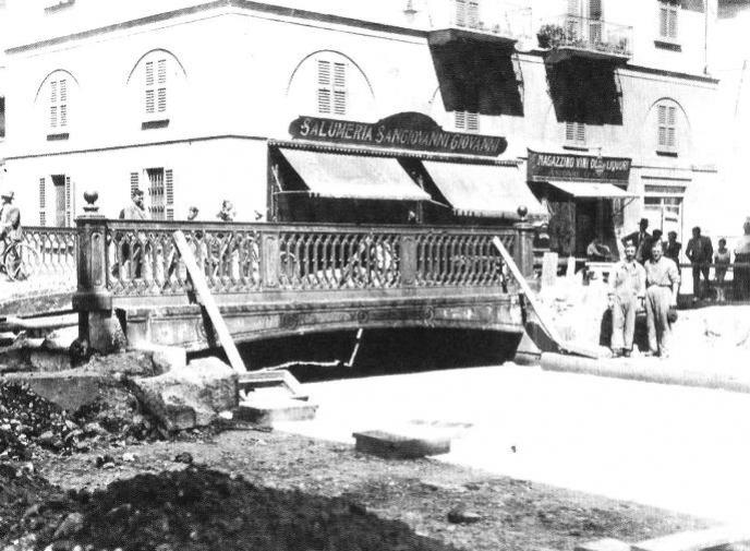 Copertura del Ponte di via della Chiusa - 1929-30