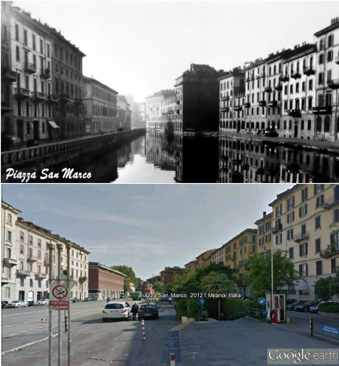 Milano, Piazza San Marco