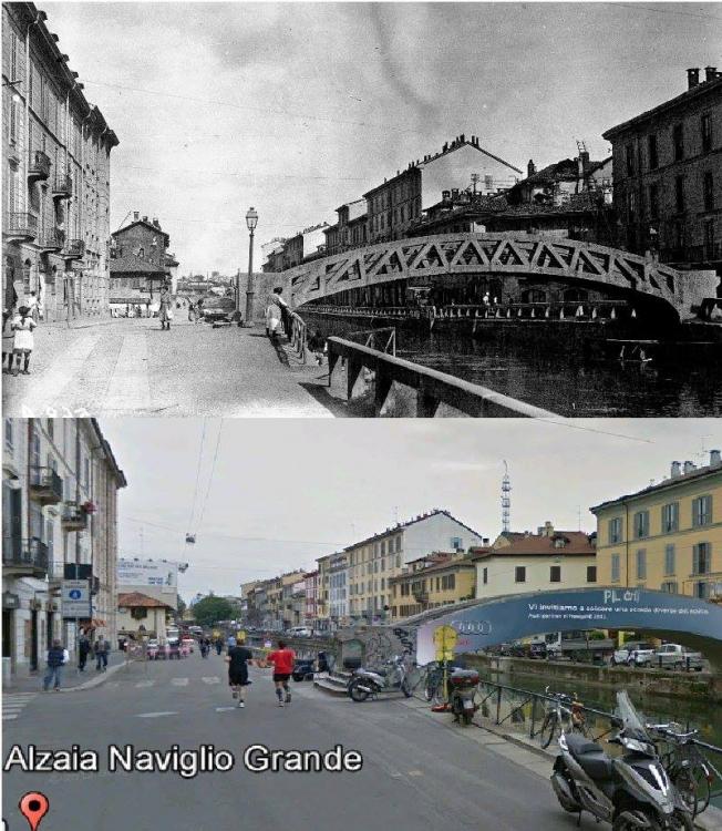 Milano, Alzaia Naviglio Grande
