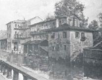 Arturo Ferrari, Via Santa Sofia, senza data, olio su tela.