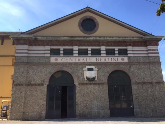 La centrale Bertini - maggio 2016