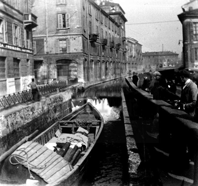 Il Naviglio lungo via San Marco, 1926