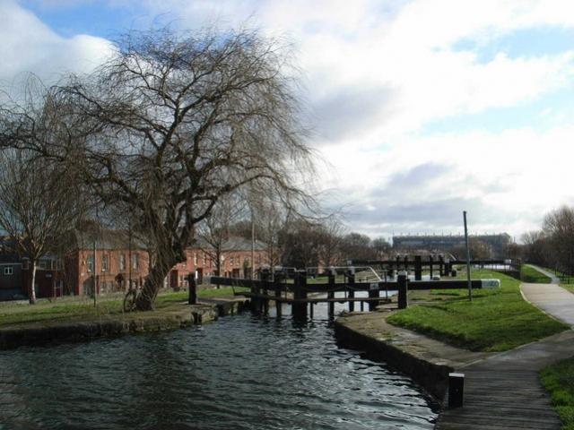 Chiusa sul Royal Canal nel quartiere di Drumcondra - Dublino