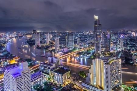 Bangkok e il fiume Chao Phraya