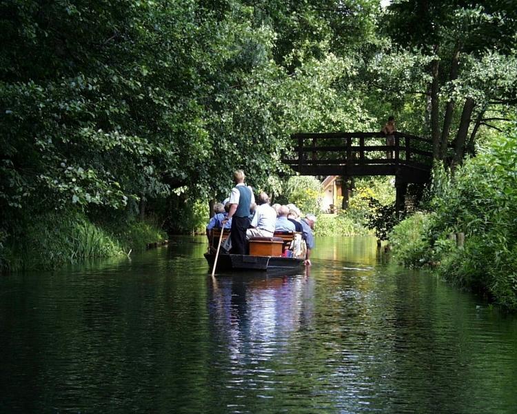 Canali nella regione del Brandeburgo
