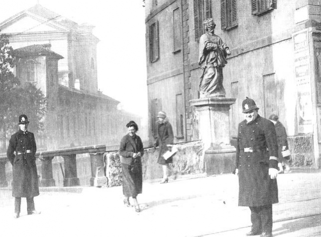 Ponte di Porta Romana - anni Venti.