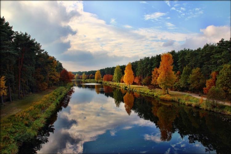 Il Canale Havel nella regione del Brandeburgo