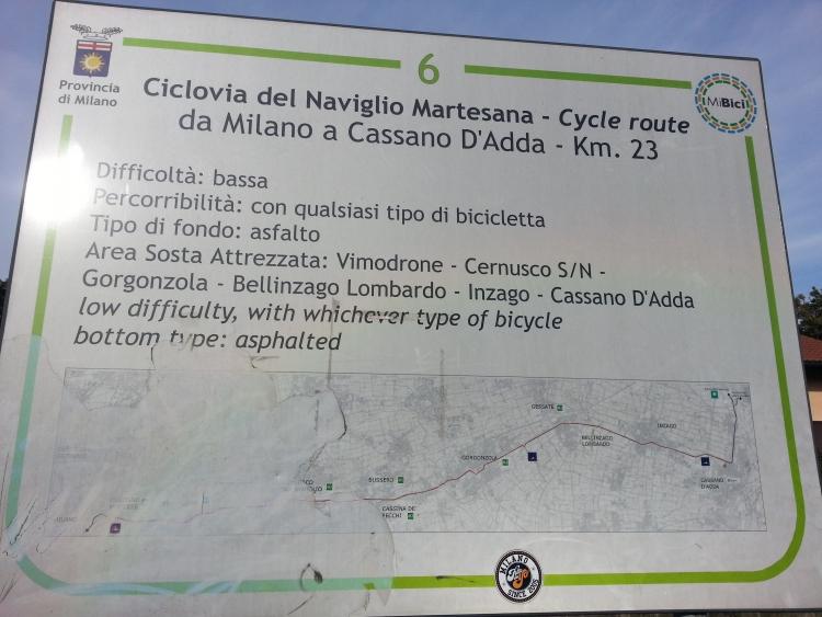 Martesana, via Idro all'altezza del Lambro - 6-01-2014