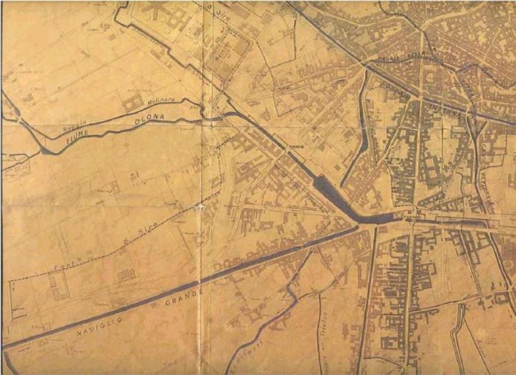 Mappa Idrografica Milano