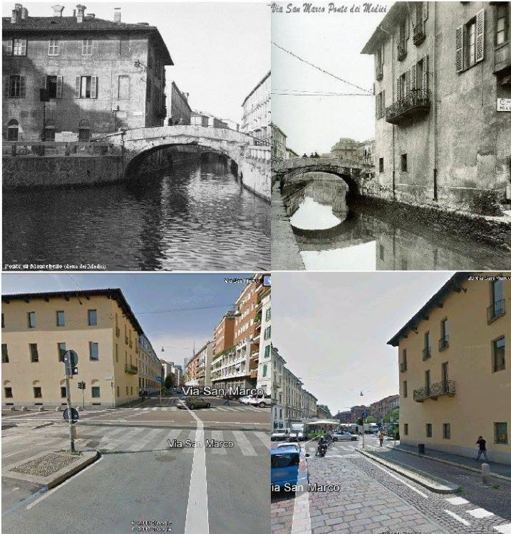 Milano, via San Marco