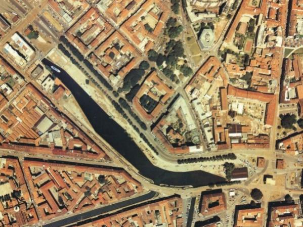 Foto aerea Darsena