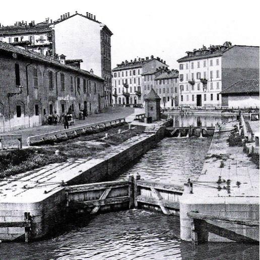 Via Conca del Naviglio, 1885