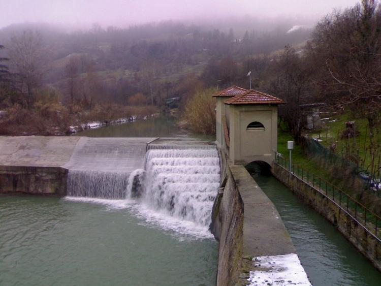Chiusa di San Ruffillo, inizio del Canale di Savena