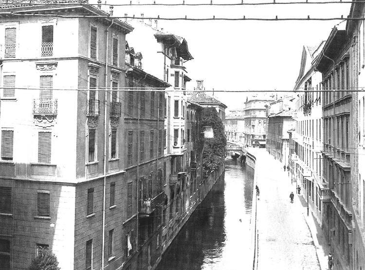 Via San Damiano - inizio Novecento