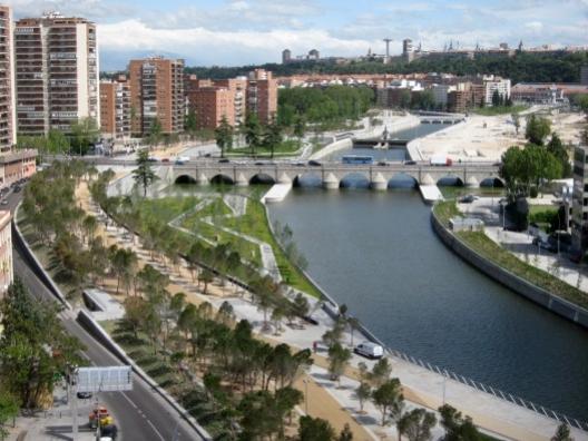 Rio Manzanarre, il ponte Segovia