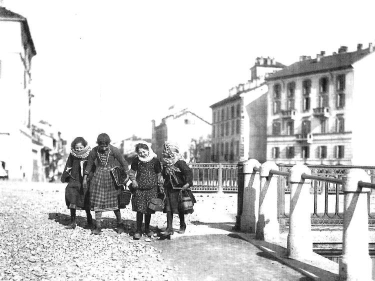 Il Ponte di via Valenza - 1890