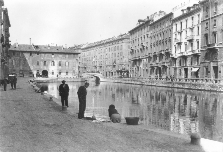 Il laghetto di via San Marco