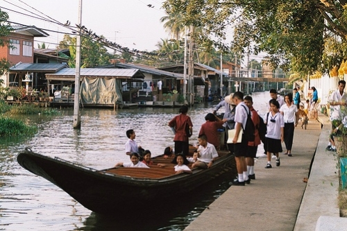 Canale a Bangkok
