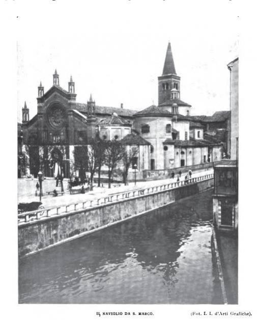Il Naviglio e la chiesa di San Marco