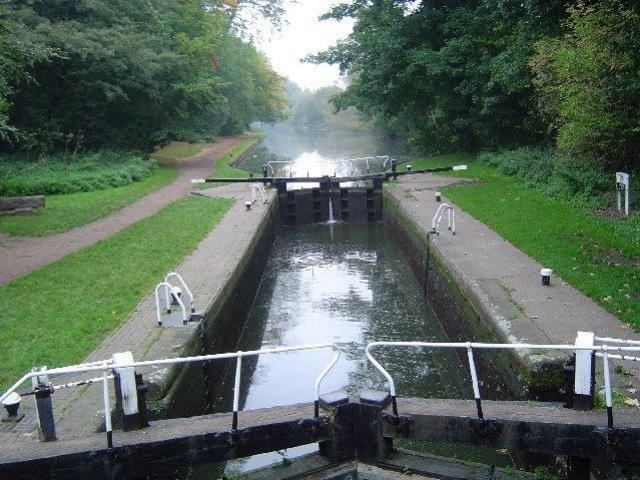 Chiusa sul Grand Union Canal