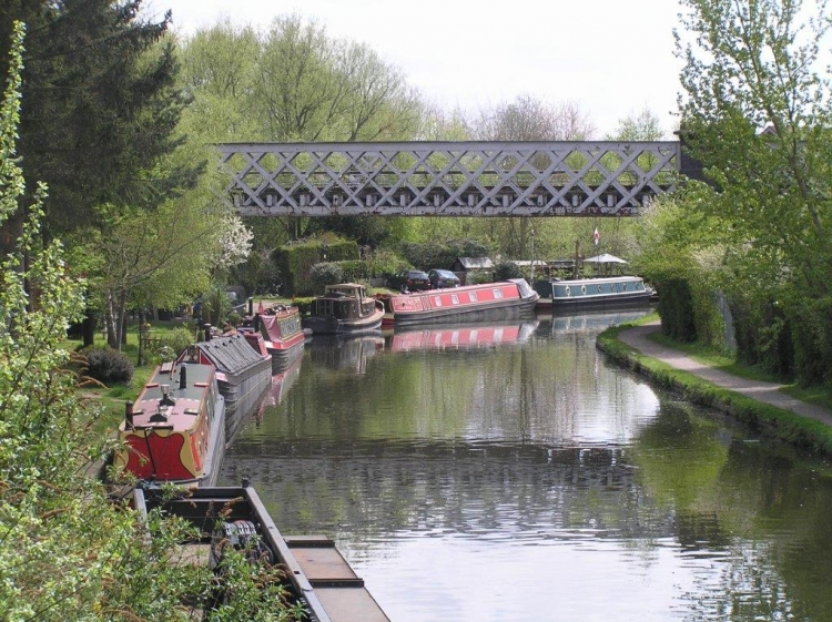Houseboats sul Grand Union Canal