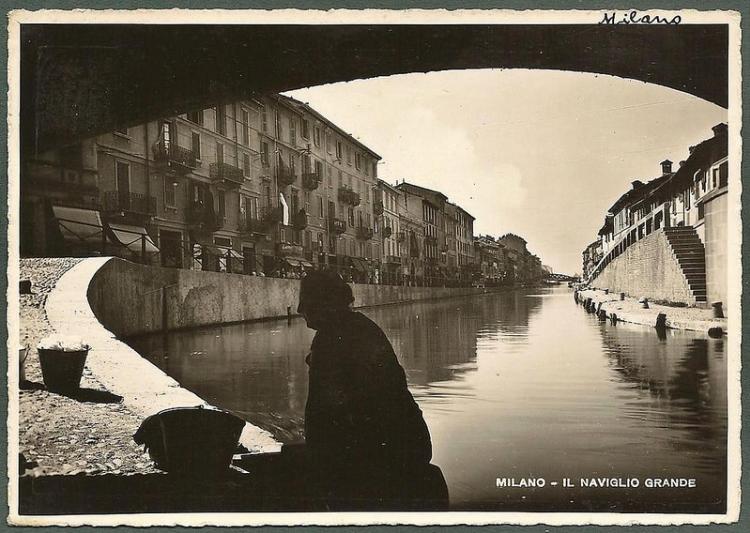 Il Naviglio Grande, 1941