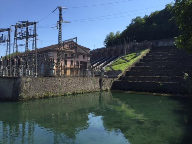 Il Naviglio di Paderno vicino alla centrale Bertini - maggio 2016