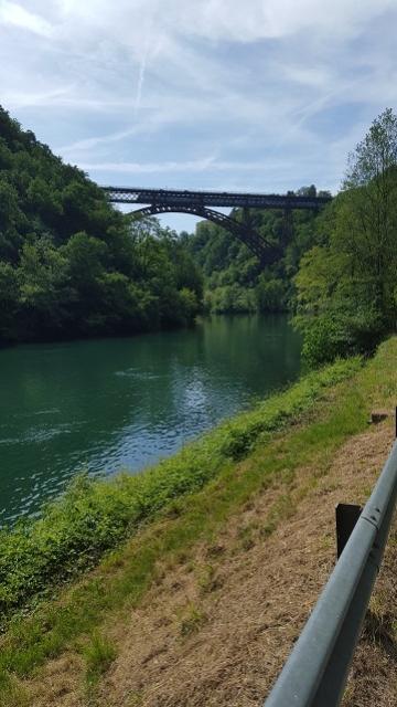 Ponte San Michele visto da Sud - maggio 2016