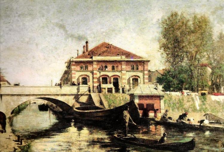 Ignoto, Ponte delle Gabelle, collezione privata