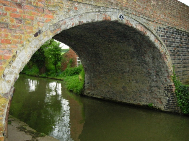 Grand Union Canal presso Bugbrooke