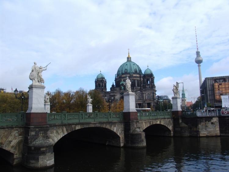 La Sprea a Berlino