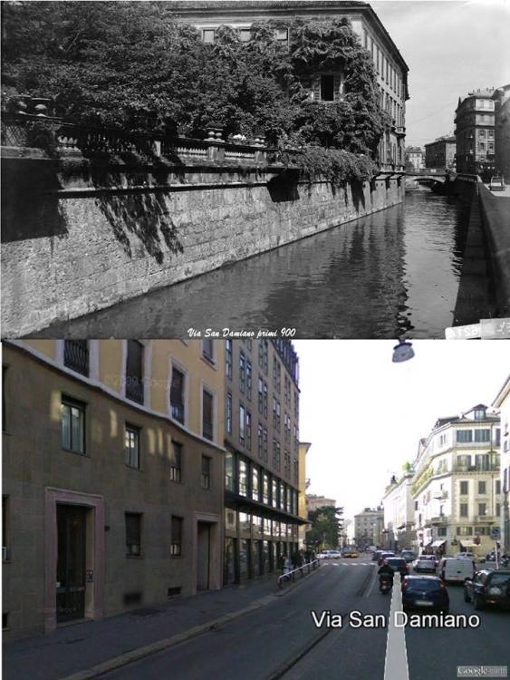 Milano, via San Damiano