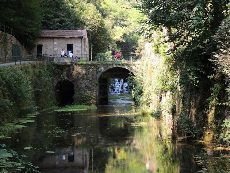 Il Naviglio di Paderno in località Porto d'Adda